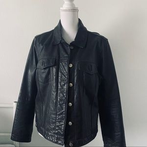 🖤 Extreme Air Blues Leather Jacket